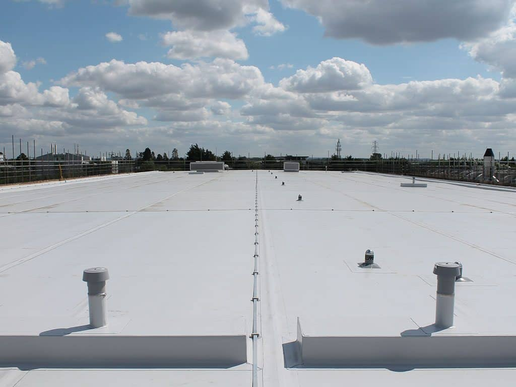 White Single Ply Roof