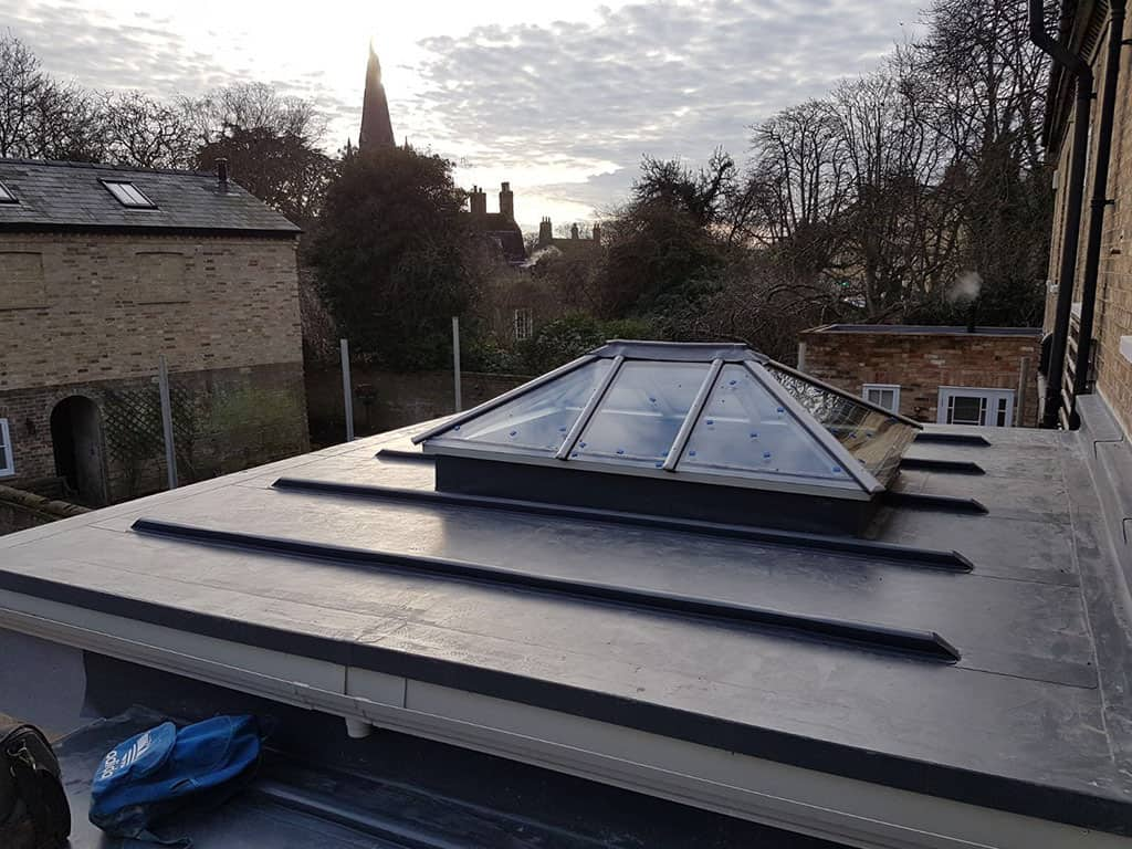 RCC skylight on roof