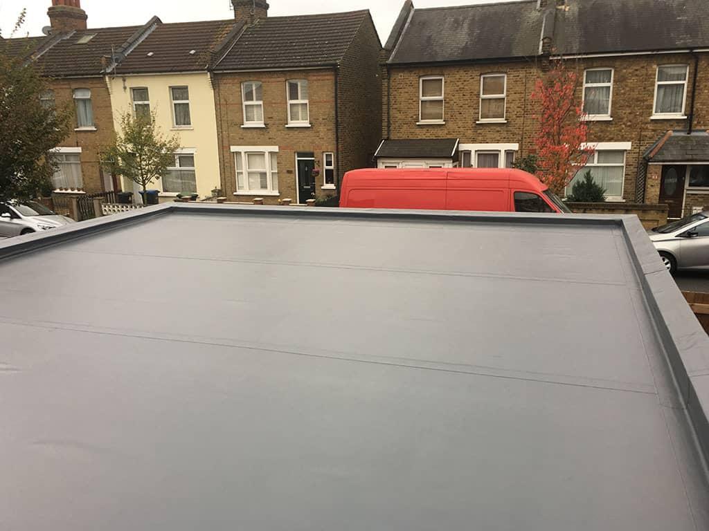 Flat roofers in Milton