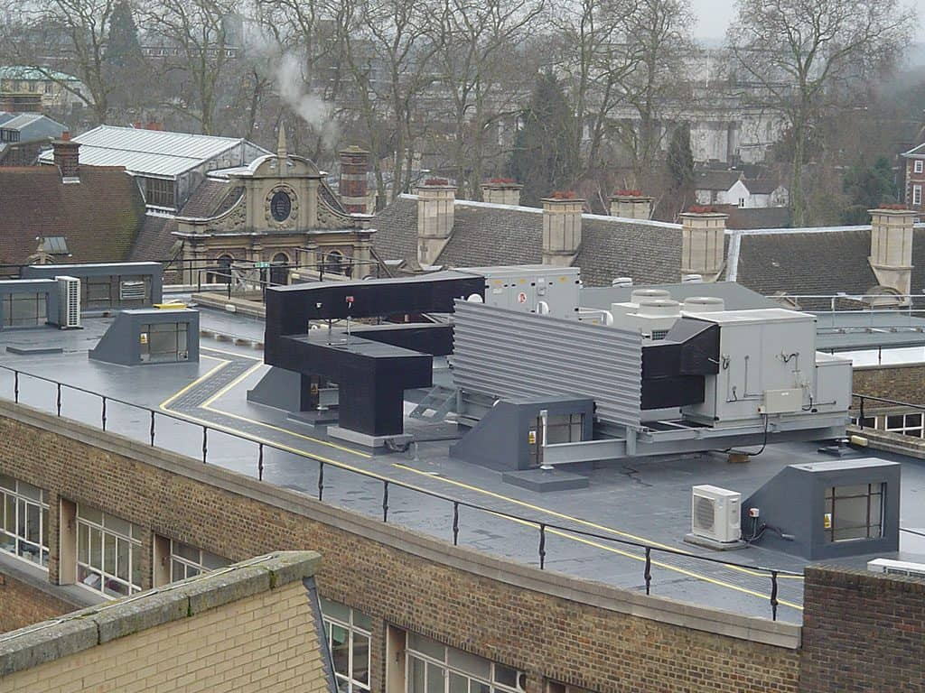 Corporate Single Ply Roof